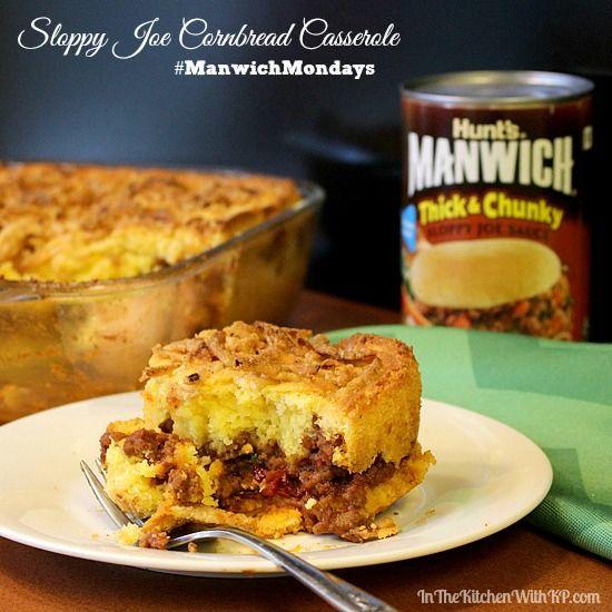 Manwich Cornbread Casserole Recipe Cornbread Casserole