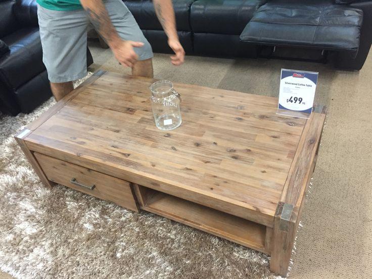 Silverwood coffee table - Super Amart