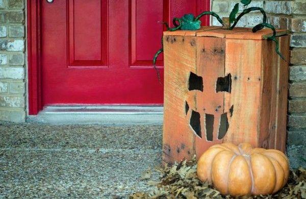 Halloween Dekoration paletten artikel