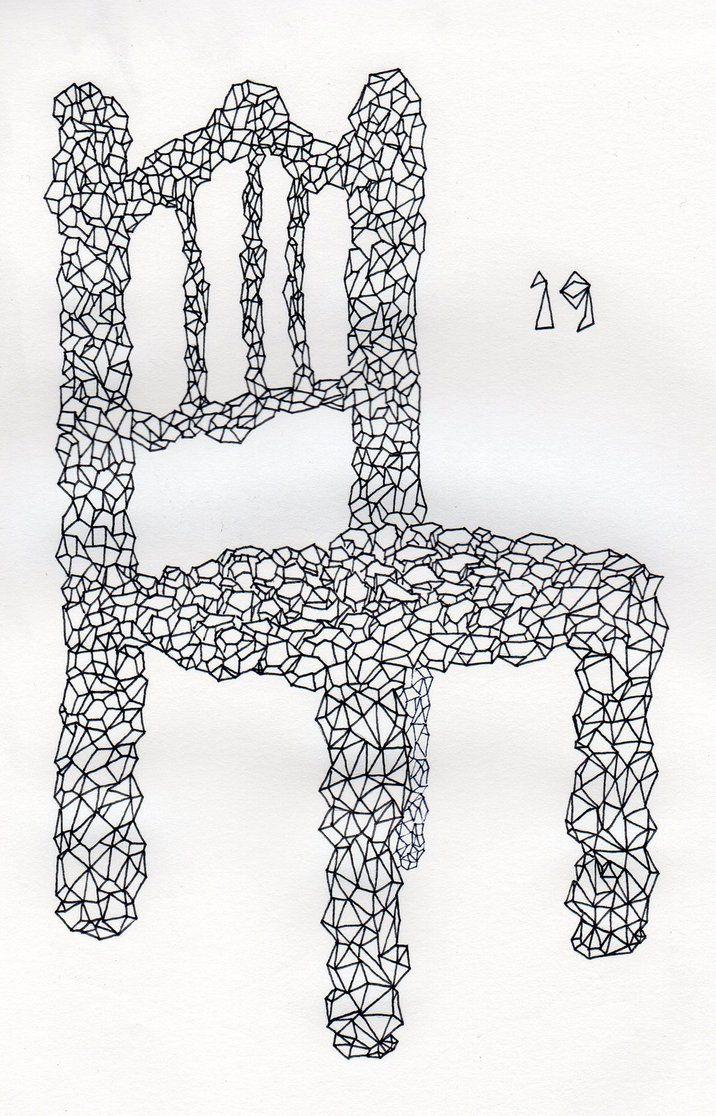 19 - Polygonal Chair by Dz-Drawing