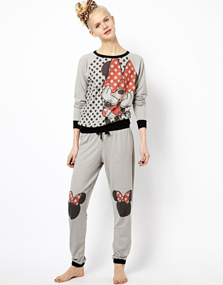 River Island   River Island Minnie Mouse Lounge Pant at ASOS