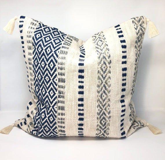 Christmas Square Pillow Cover Cushion Case Toss Pillowcase Hidden Zipper GK