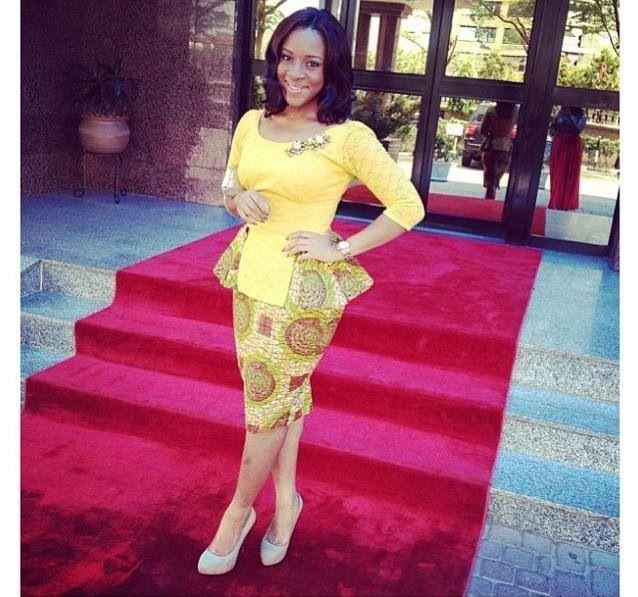 Love The Ankara Blouse Skirt African Print Designs Pinterest Classy Short Skirts And