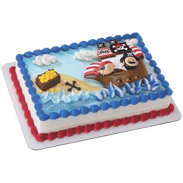 Pirate Birthday Cake Walmart