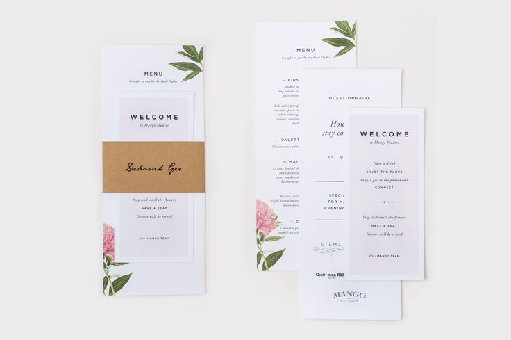 Invitations to an Elegant Dinner Party