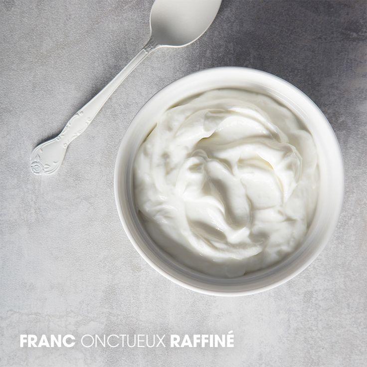 Franc, Onctueux, Raffiné - #Yogourt #grec Liberté sans #lactose