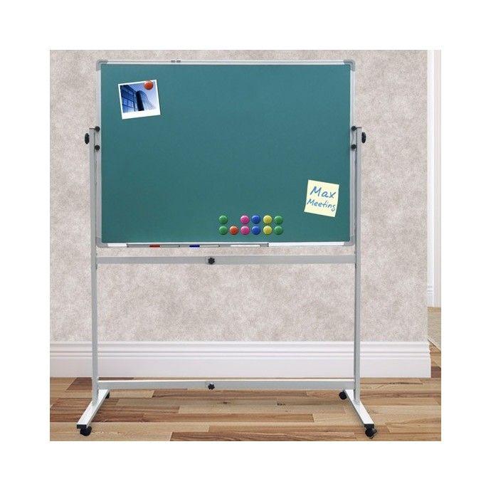 Liitutaulu rullilla, 94,95 €. Monipuolinen liikuteltava liitutaulu sopii toimistoon muistiinpanojen tekemiseen, valokuvien alustaksi tai lastenhuoneeseen piirtotauluksi. Liitutaulua on helppo liikutella lukittavien pyörien ansiosta. Liitutaulun kaltevuutta voidaan säätää portaattomasti. Mukaan tulee magneetteja muistilappujen ja valokuvien kiinnitykseen. #liitutaulu #lastenliitutaulu