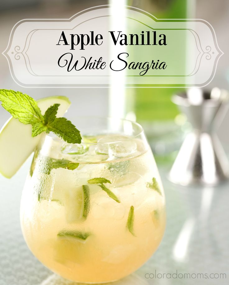 I've previouslyposted about my Sunday Sangria and it got an overwhelming amount of views. I've deduced two things from this. 1. You … Apple Vanilla White Sangria