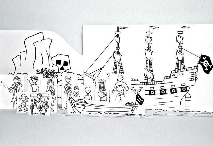 Printable Pirate Craft