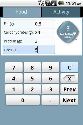 Weight Watchers Points Calculator:   www.weightwatchers.com/calculator