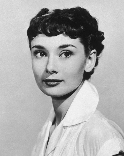 The original pixie crop, we're forever trying to pull off Audrey Hepburn's signature micro-fringe.