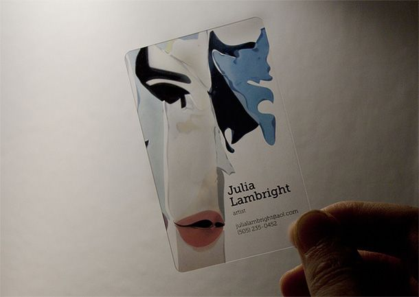 The 25 best clear business cards ideas on pinterest transparent how to make a clear business card 3 reheart Choice Image