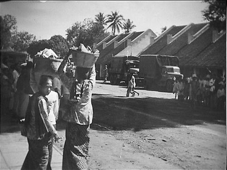 Pasar Kepandjen Malang 1948.