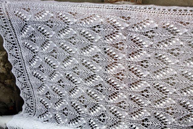 Kailill: Haapsalu sall Silvia / Queen Silvia Haapsalu shawl