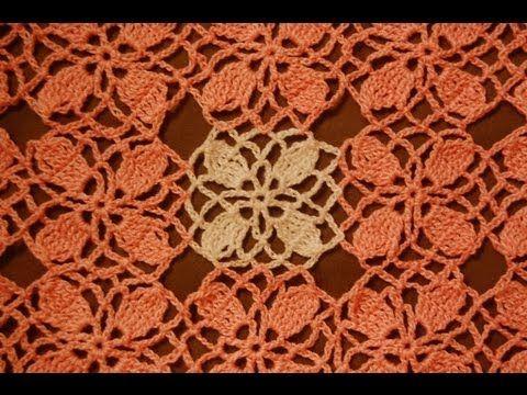 Mały element na szydełku beautiful crocet motifs