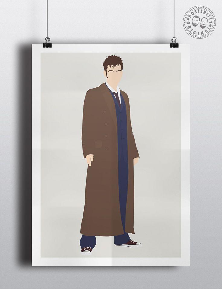 #minimalist #poster #posteritty #fanart #whovian #drwho #doctorwhol #Tennant #Tenth #DavidTennant