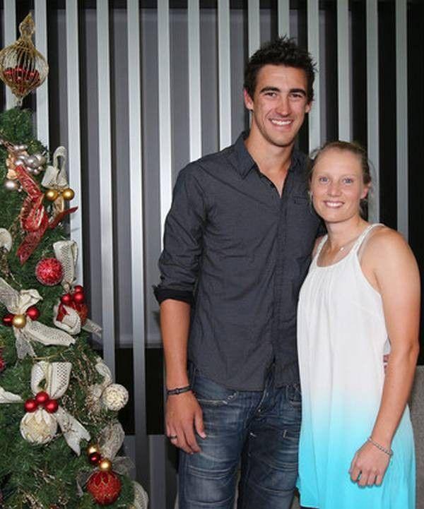 Mitchell Starc and girlfriend Alyssa Healy
