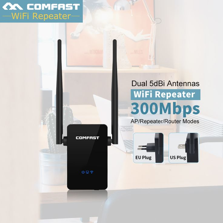 COMFAST 300Mbps Wireless WIFI Router Repeaters Antenna Wi-fi Extender Signal Amplifier 802.11N/B/G Roteador WIFI Repetidor Wifi #Affiliate