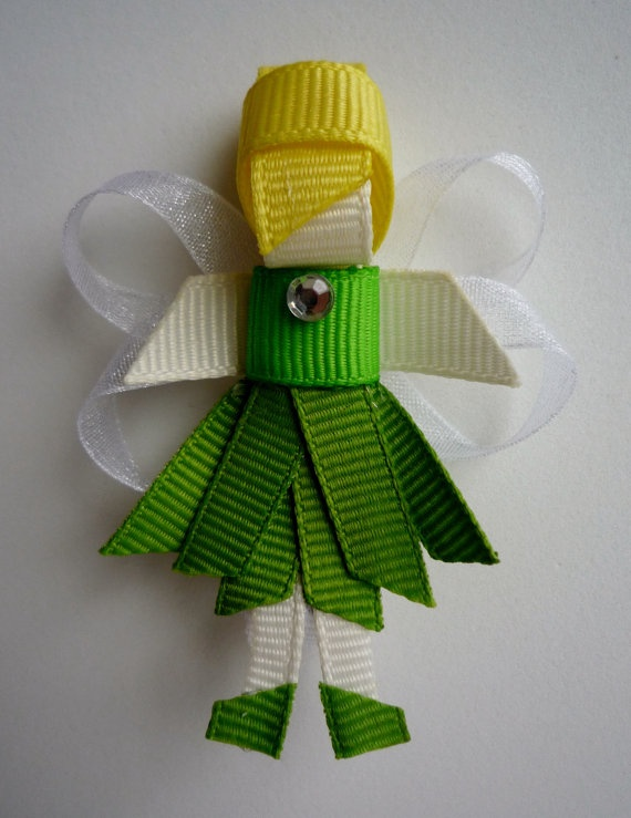 Tinkerbell ;) i have hair clips similar to this