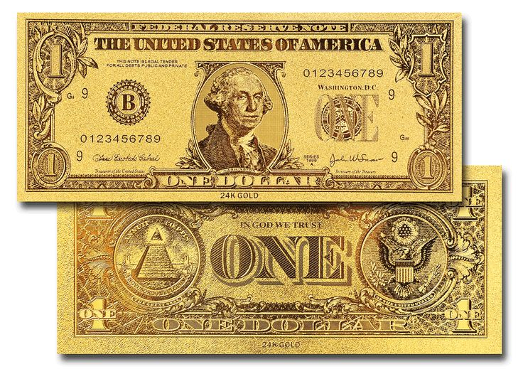Il dollaro d'oro
