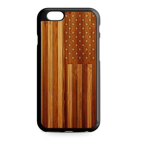 American Flag iPhone Heavy Duty Case
