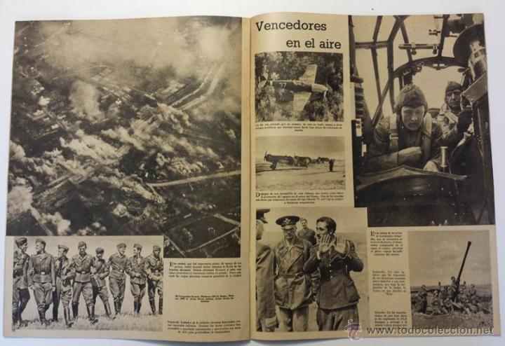 Militaria: DER ADLER -NUMERO ESPECIAL- EUROPA EN LUCHA CONTRA EL COMUNISMO 1943 DIVISION AZUL VOLUNTARIOS - Foto 12 - 43685587