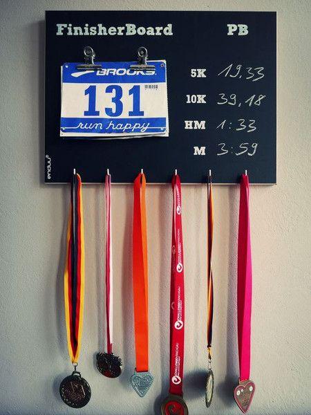 Weiteres - Medaillenhalter Laufen und Marathon 'BERLIN' - ein Designerstück von finisherboard bei DaWanda