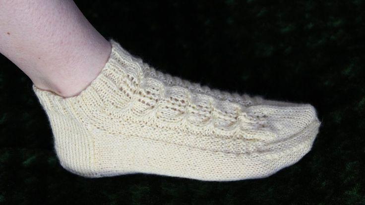 Носки с  низкой резинкой