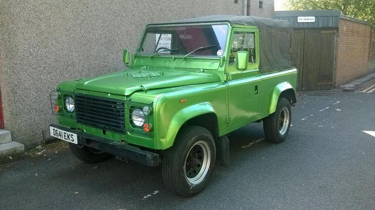 1987 LAND ROVER DEFENDER 90 for sale, £4,250 | http://www.lro.com/detail/cars/4x4s/land-rover/defender-90/73315