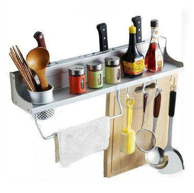 60cm-lang-aluminium-keuken-keuken-opslag-rekken-plank-enkele-kopjes-servies-wassen-bad-plank-rekken-houders.jpg (380×379)
