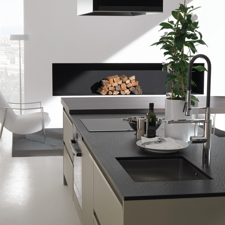 Contemporary Custom Designed European Kitchens Bontempi