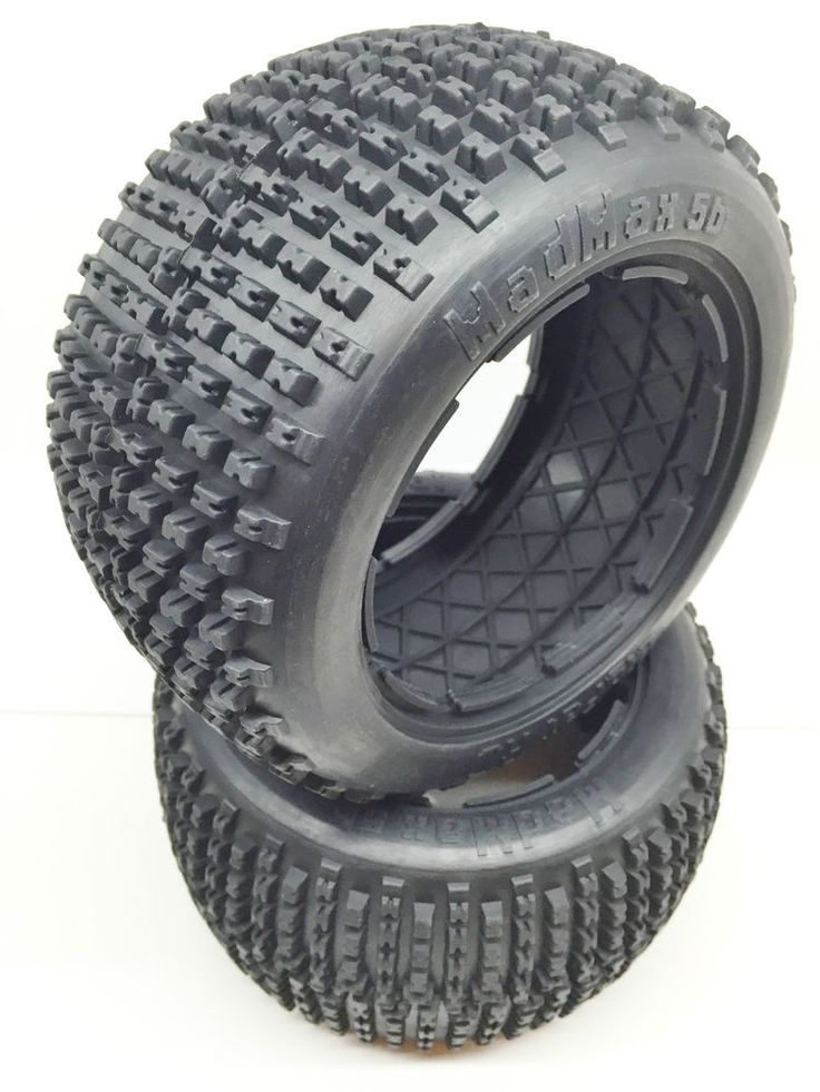 1/5 Scale MadMax Rear Dirt Track Tyres Rovan, King Motor, HPI. (set of 2)