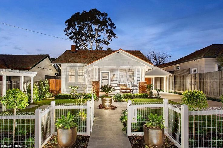 The couple hope to sell the property for more than $2.6 million after they spent about $1 million over a year to transform the 1920s California bungalow into a contemporary four-bedroom house