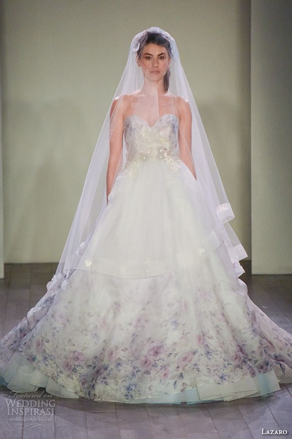 1000 images about lazaro spring 2016 at jlm press show on for Lazaro a line wedding dress