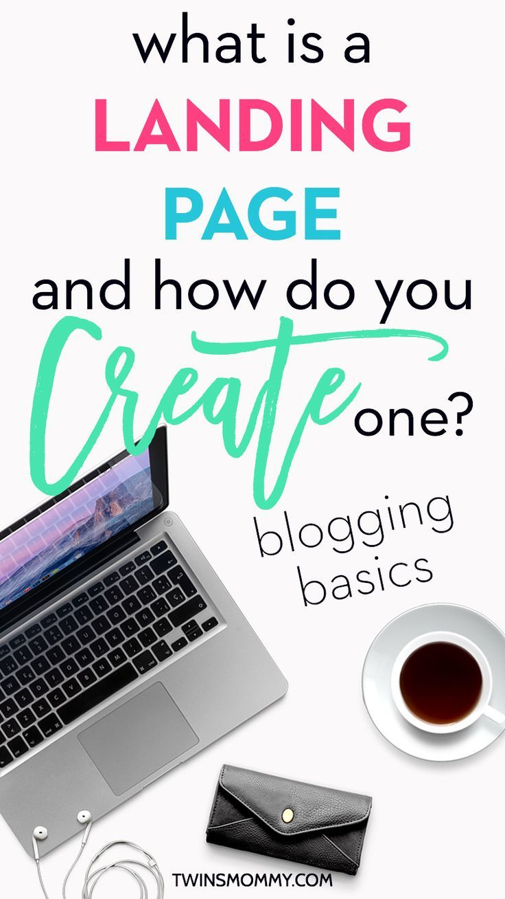 What is a Landing Page and How Do You Create One? OMG this post makes it so easy to know what a landing page is! And there's even a step-by-step tutorial on how to create a super simple, but awesome, landing page for your blog! | email marketing tips