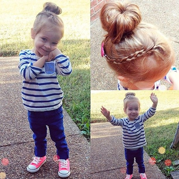 obsessed with this little girl's hair