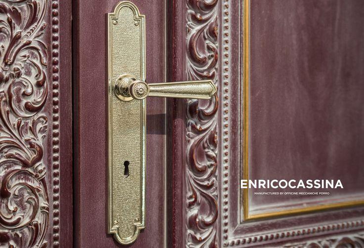Dørgreb indendørs messing langskilt - Second Empire - model C00710. Køb online