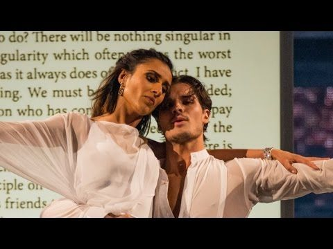 Anita Rani and Gleb Savchenko Rumba to 'Read All About It' - Strictly Come Dancing: 2015 - YouTube