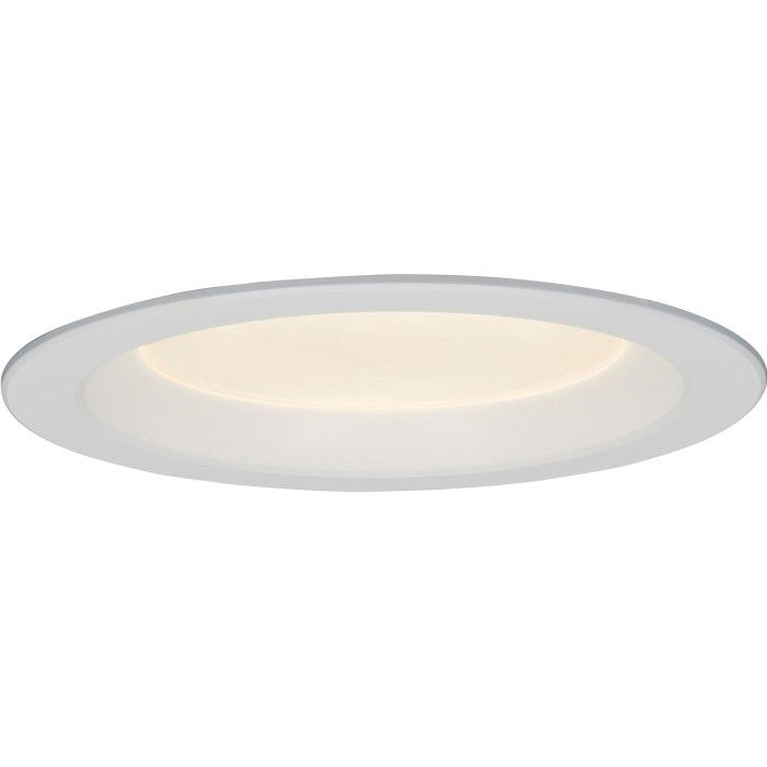 Gotham Evo 6 Inch Architectural Dimmable LED Recessed Shower Light + Kit