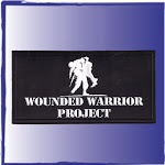 Our custom emblem for the Wounded Warrior project shows the detail that is in the logo. We made the pvc labels and then sewed them to various items for our customer.