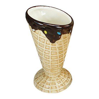 D'lusso Designs 4-teiliges Design-Keramik-Eisschalen-Set   – Products