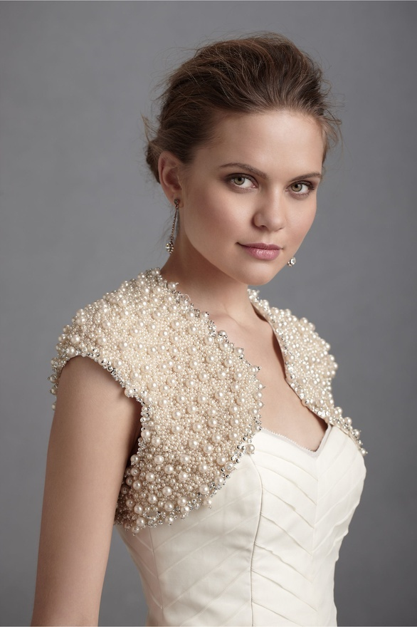 Mother of the Bride Pearl Bolero