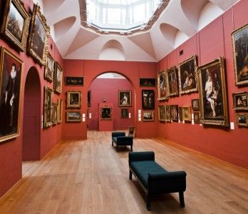 Farrow & Ball Picture Gallery Red - terrific with lighter oak flooring