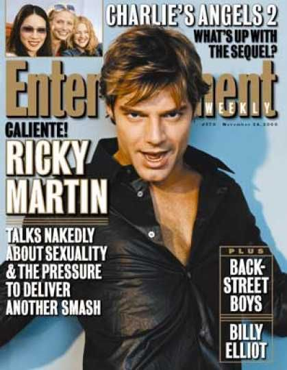 Entertainment Weekly Covers #550-599