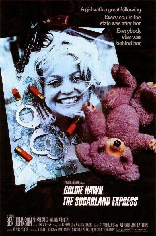 Loca evasión - The Sugarland Express (1974) | Improvisados Bonnie and Clyde... Steven Spielberg debuta en el cine con esta irregular, y en ocasiones hasta...