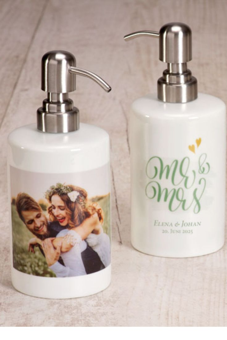 Seifenspender Mr. & Mrs.