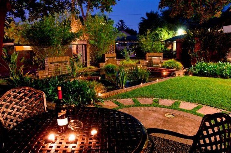 Enjoy a sundowner in the beautiful gardens. http://www.accommodation-in-southafrica.co.za/NorthWest/Rustenburg/RustenburgBoutiqueHotel.aspx