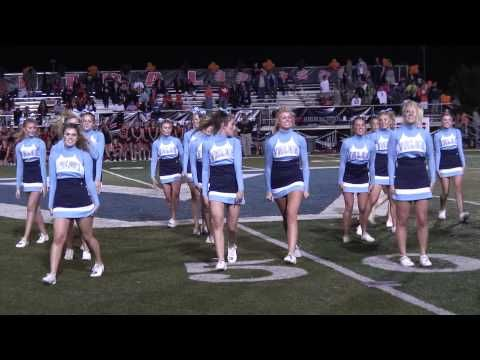 Valor Christian Cheerleaders at Halftime for ESPN 2 Game of the Week - YouTube