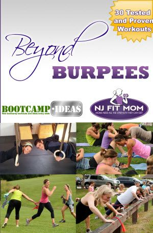 Lots of great ideas written for bootcamps...fun games, interesting class structures and more. Always remember to modify any of these workouts for the mamas and kid's interest levels and need for movement.