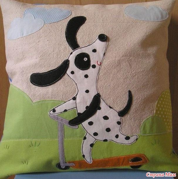 Интересные варианты подушечного декора для детей и не только.